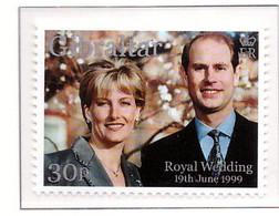 PIA - 1999 - Matrimonio Di S.A.R. Principe Edoardo Con Miss Sophie Rhys-Jones -  (Yv. 889-90) - Gibilterra