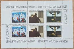 Croatie - YT BF N°10 - Europa / Art Contemporain - 1993 - Neuf - Croacia