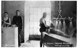 VICHY - I926  1/5  - Hôpital Militaire. Massage Sous L'eau. - Vichy