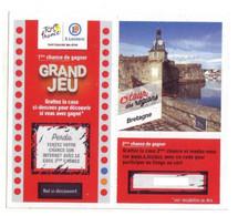 Ticket - Tour De France / E.Leclerc - Bretagne (2021) Jeu Fini - Obsolète - Lottery Tickets