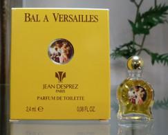 BAL A VERSAILLES - PDT 2,4 ML De JEAN DESPREZ - Miniaturen Flesjes Dame (met Doos)