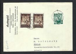 AUTRICHE 1955: LSC De Vienne Pour La Suisse - 1945-60 Brieven