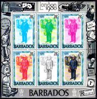 DB -8- Barbados 1984 (++) MNH - Senza Difetti Occulti - - Barbados (1966-...)