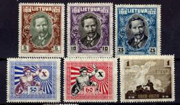 Litauen / Lietuva, 1928,  Mi 281-282; 284-287 * [020821VI] - Lithuania