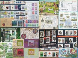 FRANCE - Année Complète 2011 - NEUF LUXE ** 103 Timbres - AVEC Les 4 Blocs En Dentelle-rares(tirage=400 000 Exemplaires) - 2010-....