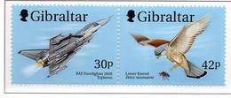 PIA - 1999 - Aerei Della Reale Forza Aerea E Uccelli Rapaci -  (Yv. 883-88) - Gibilterra