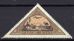 Litauen / Lietuva Mi 327 A *, Flugpost / Air Mail [020821VI] - Lithuania