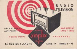 BUVARD & BLOTTER - AMPLIX - RADIO TSF TELEVISION - Unclassified
