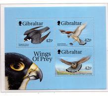 PIA - 1999 - Uccelli Rapaci -  (Yv. Bf 36) - Gibilterra