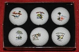 6 NIKE Precisor Power Distance Soft Island Golf Balls - Tommy Bahama. - Apparel, Souvenirs & Other