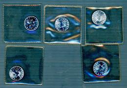 °°° Lotto 1 Lira 5 Pezzi 1970 Da Serie Zecca Fdc °°° - 1 Lira