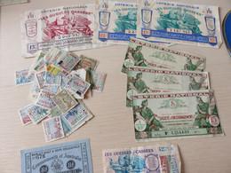 Lot Billets Et Divers - Lottery Tickets