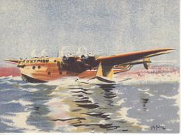 Hydravion Bréguet 730  -  Par Carte Postale Illustrateur Jean Des Gachons  -  CPA - 1919-1938: Entre Guerras