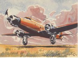 Dewoitine 342  -  Par Carte Postale Illustrateur Jean Des Gachons  -  CPA - 1919-1938: Entre Guerras