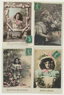 Lot De 36 Cartes Fantaisie - Enfants - - 5 - 99 Postkaarten