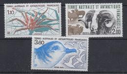TAAF 1989 Animals 3v ** Mnh (53462) - Unused Stamps