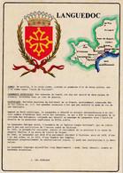 Les Blasons De France, Languedoc - Languedoc-Roussillon