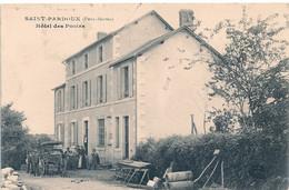 Cpa 79 St  Pardoux Hotel Des Postes - Sonstige Gemeinden