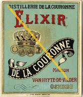 Distillerie, ELEXIR De La Couronne, Ostende (BAK-2, D-7) Oostende - Ostende - Sin Clasificación