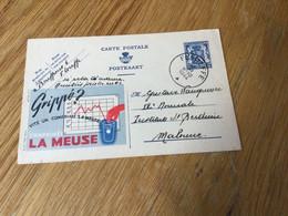 Belgique : Publibel N°548 . La Meuse . Beau Cachet De Floreffe - Publibels