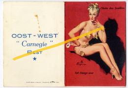 Kalendertje (1956) Oost - West, Carnegie Best. (BAK-2, D-7) Oostende - Ostende - Unclassified