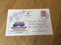 Belgique : Publibel N°649 : Camion Vermeulen : Beau Cachet D'Uccle - Publibels