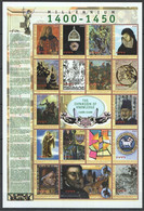 EC108 DE GUINEE MILLENNIUM 1400-1450 THE EXPANSION OF KNOWLEDGE 1SH MNH - Other