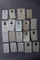 Lot De Cartes Mortuaires  Dont Noblesse - Images Religieuses