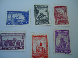 SERBIA MNH   STAMPS  LANDSCAPES - Serbia