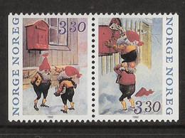 Norway Norge 1992 Christmas, Gnomes Mi 1112-1113  MNH(**) - Nuovi