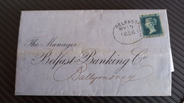 Queen Victoria, 1856 Banking Letter Sheet, Very Fine. - Covers & Documents