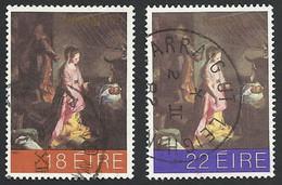 Irland, 1981, Mi.-Nr. 455 + 456, Gestempelt - Usati