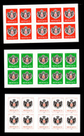 Monaco - Carnets YV 13 / 14 / 15 N** Cote 44 Euros - Carnets