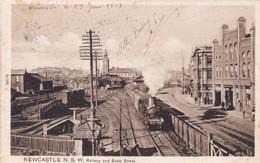Newcastle N. S. W. Railway And Scott Street - Newcastle-upon-Tyne