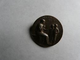 BROCHE ANCIENNE 1914  - SIGNE RASUMNY : SOUVENEZ VOUS - Autres