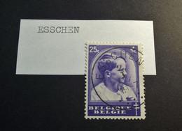 Belgie Belgique - 1936 -  OPB/COB  N° 439 - 25 C   - Obl. -  ESSCHEN  - 1936 - Used Stamps