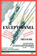 Dt-Reich Propagandakarten - JUNKERS- STURZKAMPFBOMBER JU 88 JU: 87 10 Bild - Postkarten Mit Erlauterungen ( ͡♥͜ʖ ͡♥) ♥ - War 1939-45