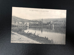 A 4884 - Amay Ombret Le Pont Detruit - Amay