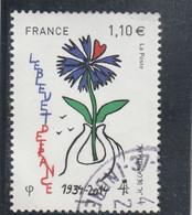 LE BLEUET DE FRANCE FRANCE 2014 - YT 4907 - OBLITERE - Used Stamps