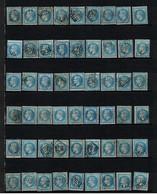 Yvert N° 29 X 54 Exemplaires . - 1863-1870 Napoléon III Con Laureles