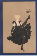 CPA Surréalisme Femme Art Nouveau Publicité Publicitaire Réclame Circulé Voir Dos Chapeau Chapellerie - Werbepostkarten