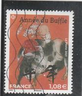 FRANCE 2021 ANNEE DU BUFFLE OBLITERE (grand Modele) - Used Stamps