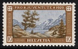 Switzerland 1929 Mountains Berge Engstlensee Mint - Nuovi