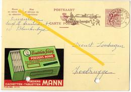 Gele Briefkaart (Reclame Wonderbare Poeders) Blankenberge (BAK-2, D-7) - Illustrat. Cards