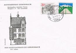 41304. Carta GERNSBACH (Alemania Federal) 1976. Alte Rathaus - Covers & Documents