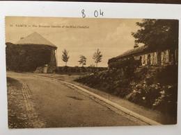 Cpa, Publicité, écrite En 1931, Souvenir Of The Grand Hôtel De La Citadelle Namur, The Dungeon BELGIQUE - Namur