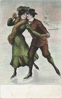 54 - Couple  - Patins à Glace - Patinage Artistique