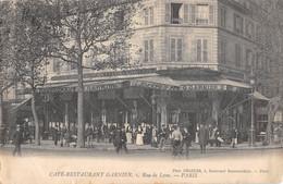CPA 75 PARIS XIIe PARIS CAFE RESTAURANT GARNIER RUE DE LYON - Distretto: 12