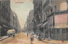 CPA 75 PARIS XIe TOUT PARIS RUE RICHARD LENOIR PRISE DE LA RUE DE CHARONNE - Arrondissement: 11