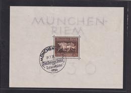 RAL2 /  Deutsches Reich  Block Bl. 4 Braunes Band / Originalgummi - Bloques